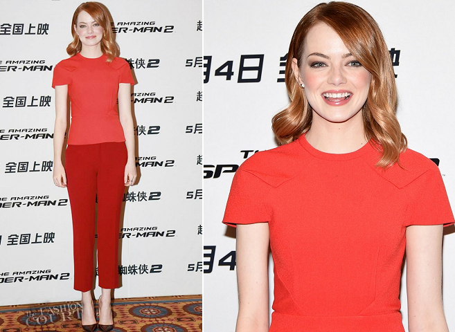 emma-stone-in-roland-mouret-amazing-spider-man-2-rise-of-electro-beijing-photocall