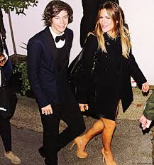 Caroline Flack and Harry Styles together