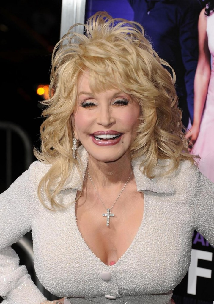 dolly parton cleavage tattoo