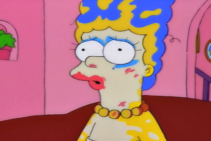 Marge Simpson makeup range? // MAC's got your back