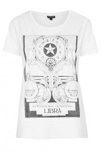 Topshop horoscope t-shirt
