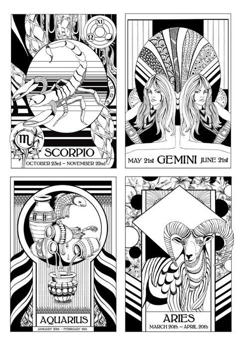 topshop horoscope t-shirts