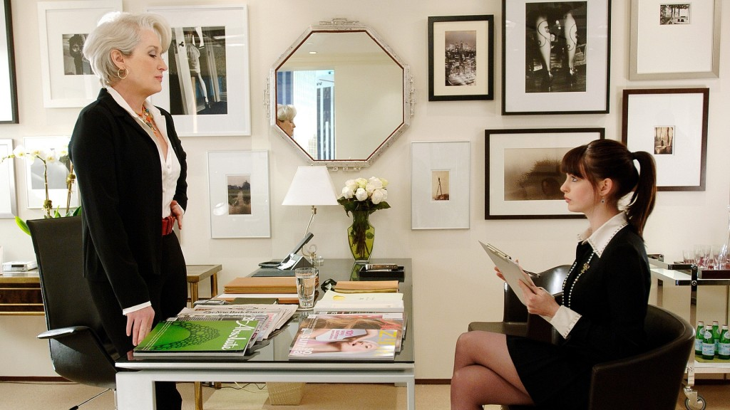 devil wears prada desk scene