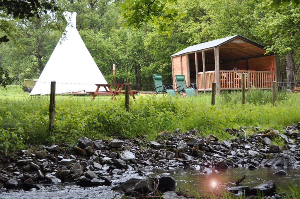 Black Mountain Tipi Retreat Wales