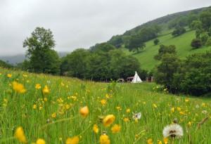 Black Mountain Tipi Retreat Wales