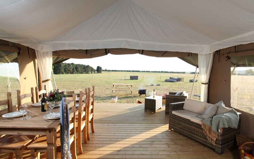 Wild Luxury - Glamping in Norfolk