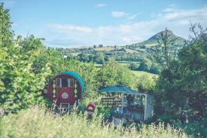 Little Oasis Rosie the Red Wagon glamping