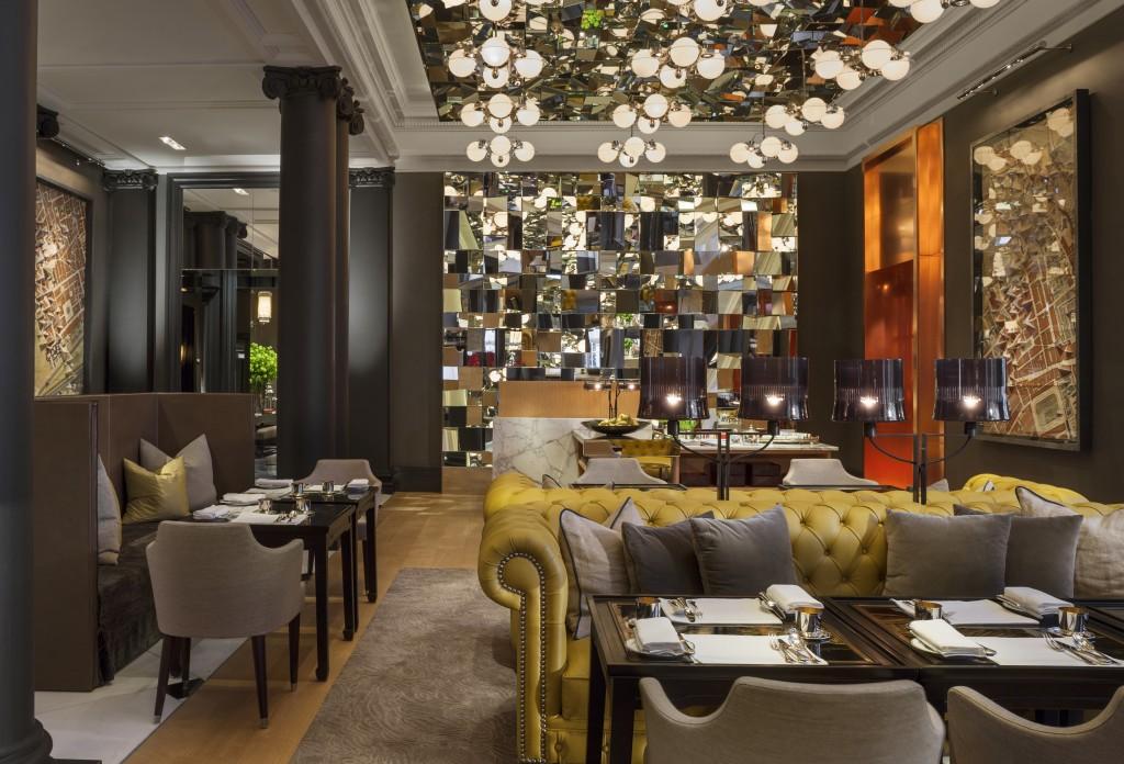 Rosewood London Mirror Room restaurant
