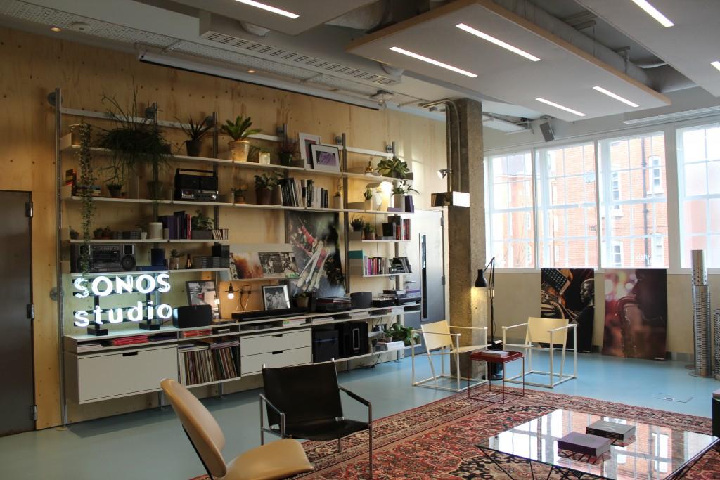Sonos studio LDN Shoreditch