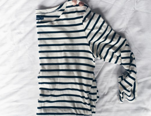 how to style breton stripe top petit bateau