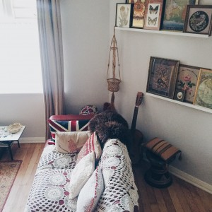 The London apartment of Natalie Wall from leblow.co.uk