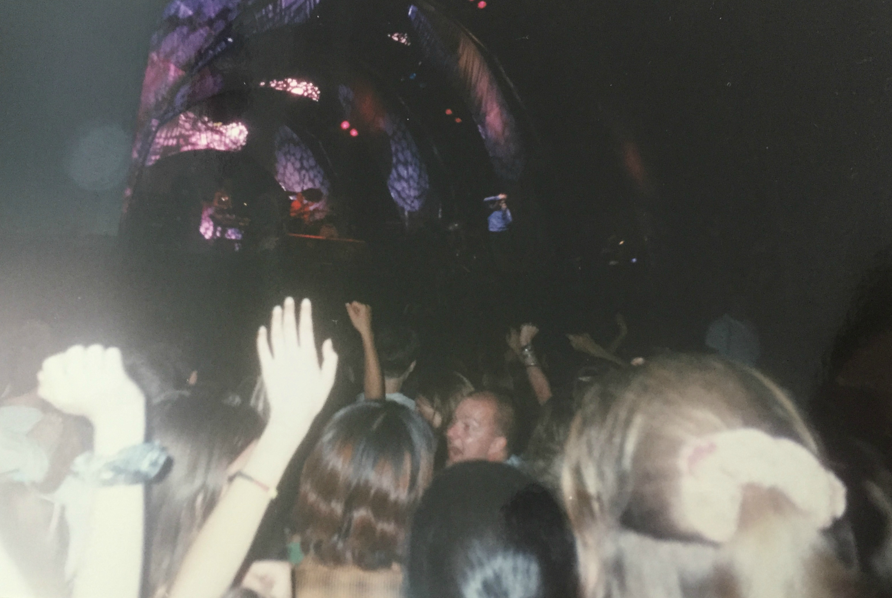 Pulp on stage at V96