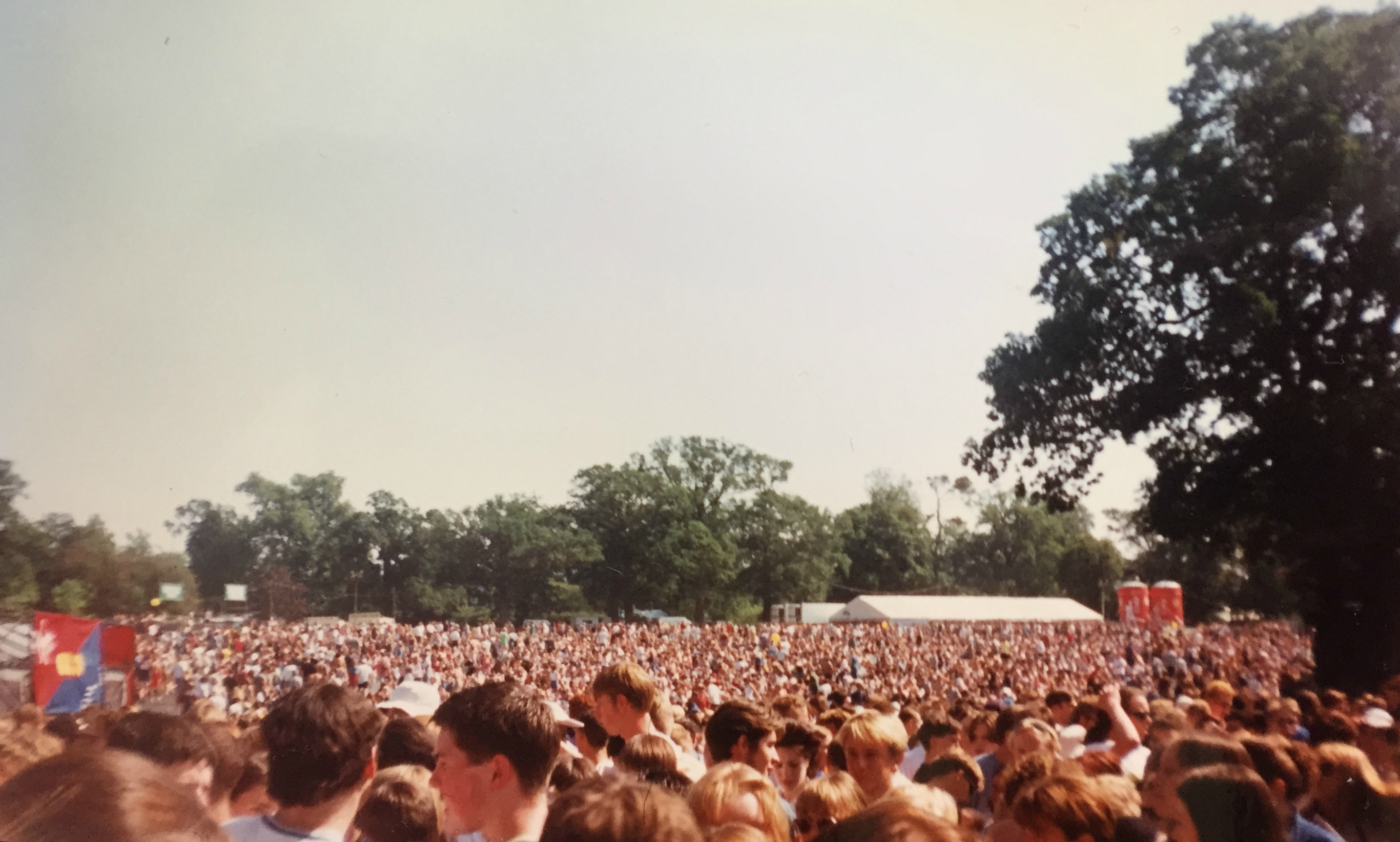Crowd at V96 festival 1996
