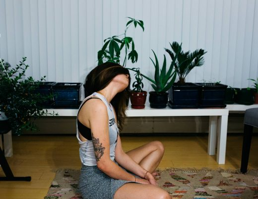 Photo by Lena Bell: cool woman meditatiing