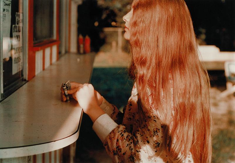 William Eggleston National Portrait Gallery