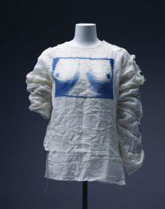 Vivienne Westwood tits t shirt Vulgar exhibition