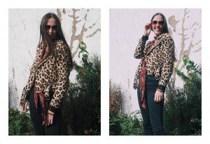 zara leopard biker jacket shades