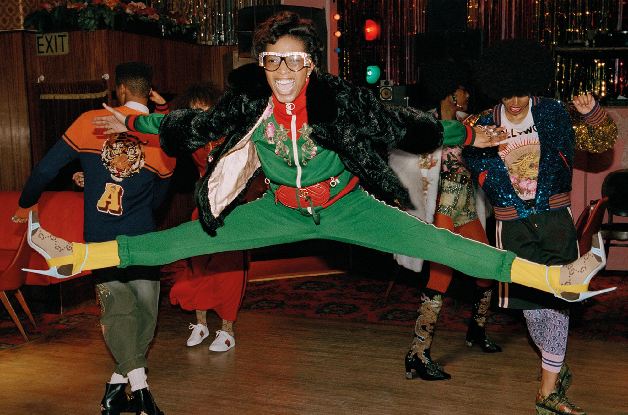 Gucci pre-fall 17 campaign London dancehall