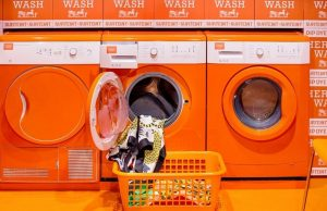 Hermes luxury laundromat Manchester UK