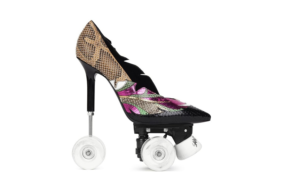 Saint Laurent have released stiletto rollerskates
