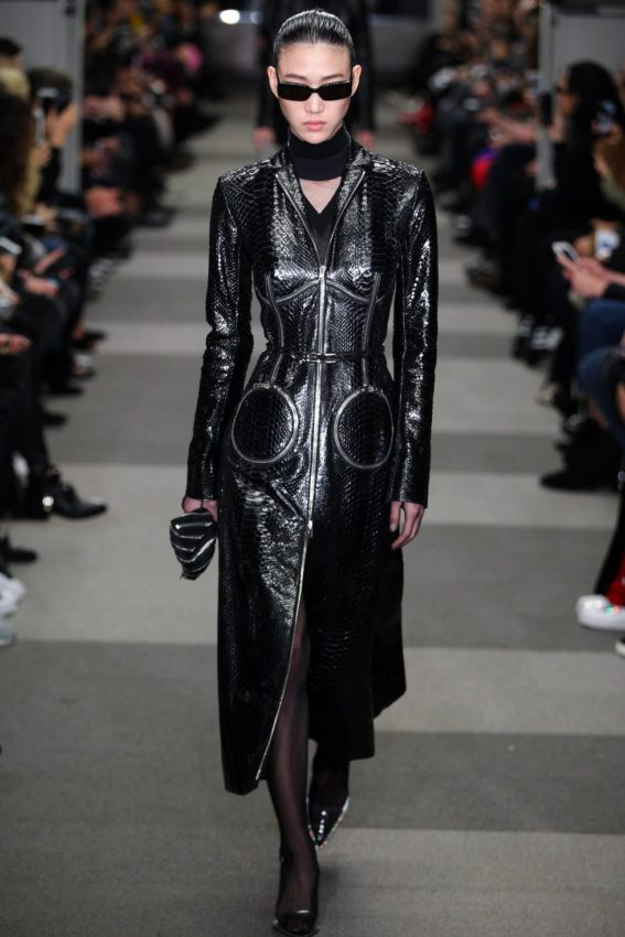 Alexander Wang AW18 the Matrix