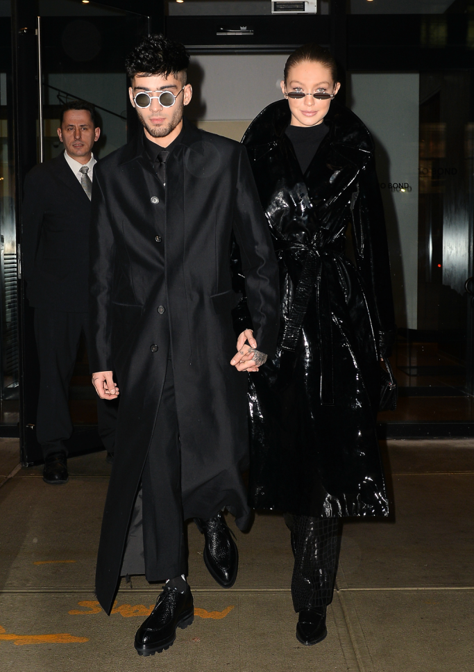 Gigi Hadid and Zayn Malik step into the Matrix