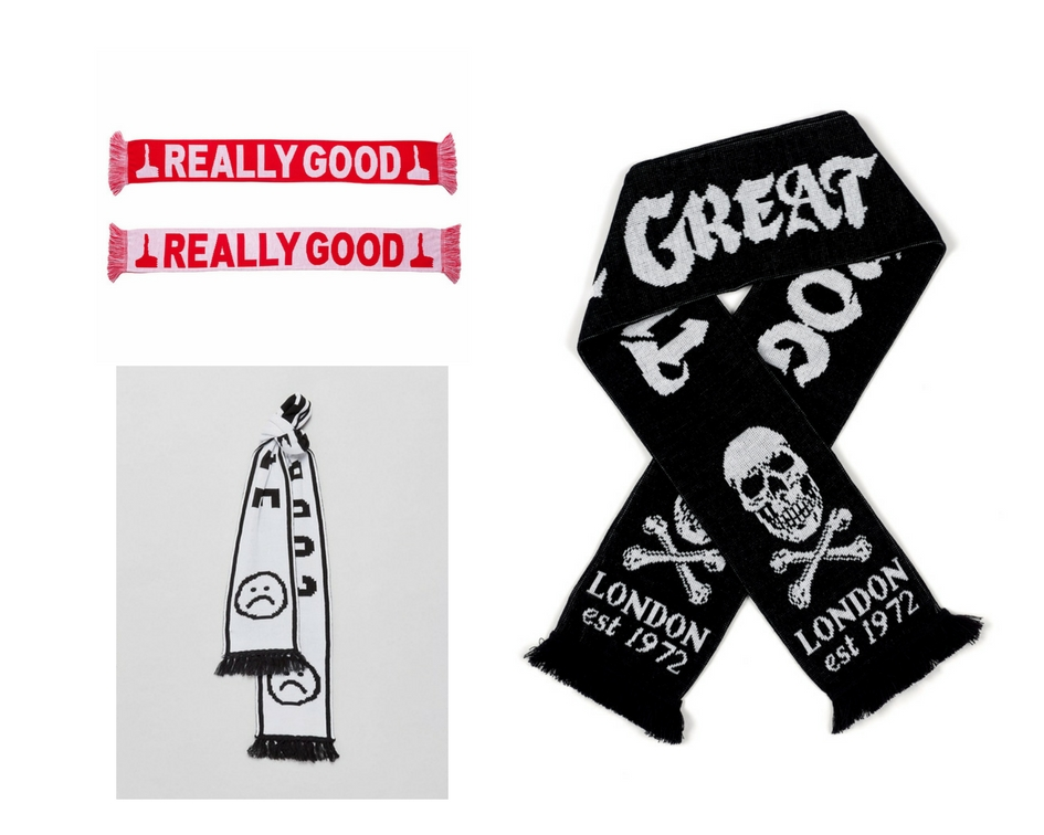 non football football scarves are in fashion