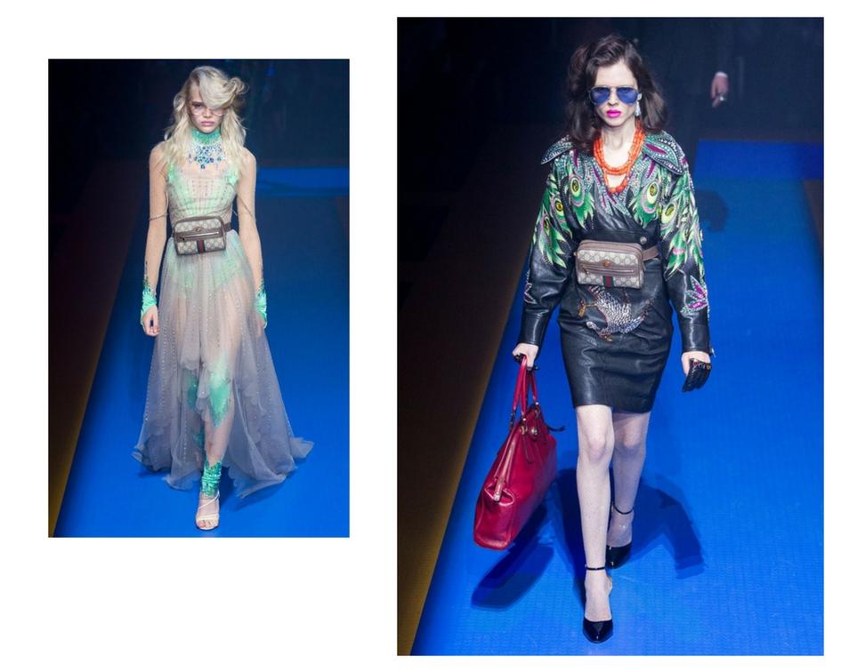 Gucci SS18 bum bag trend