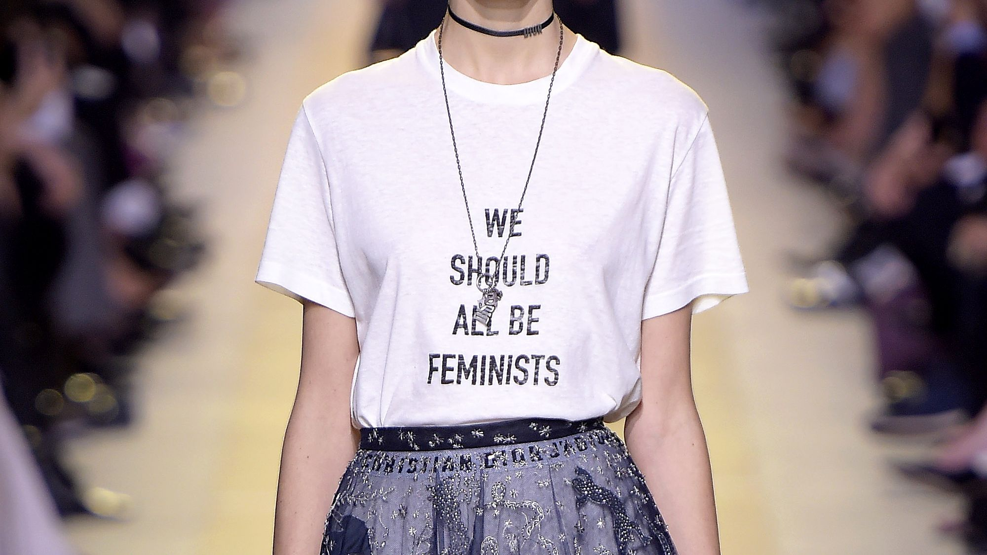 "Dior SS17 ""We should all be feminists"" T-shirt"