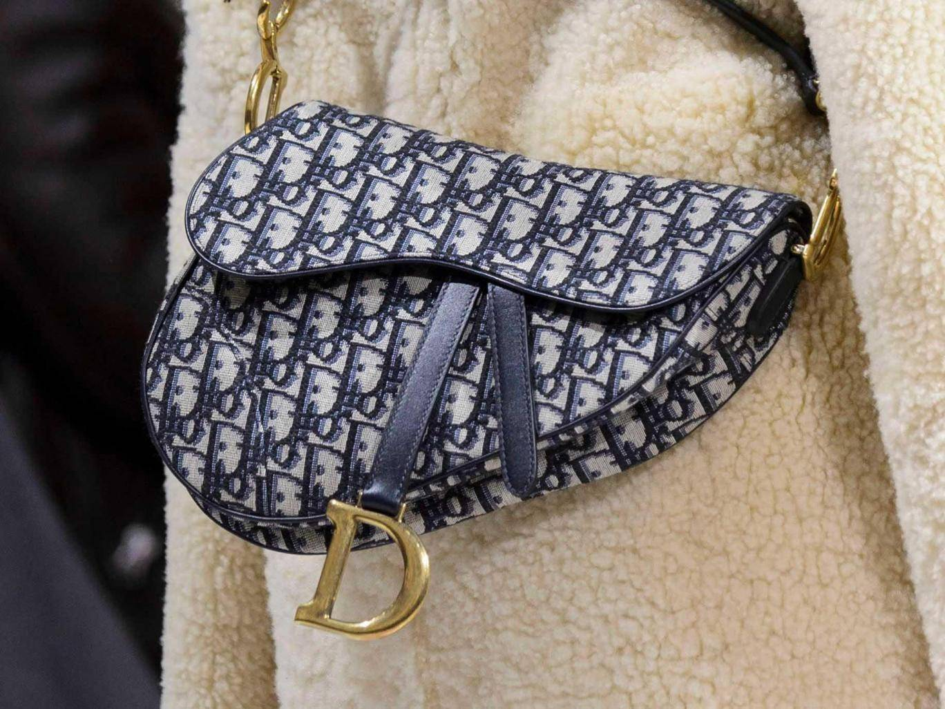 Dior saddle bag is back
